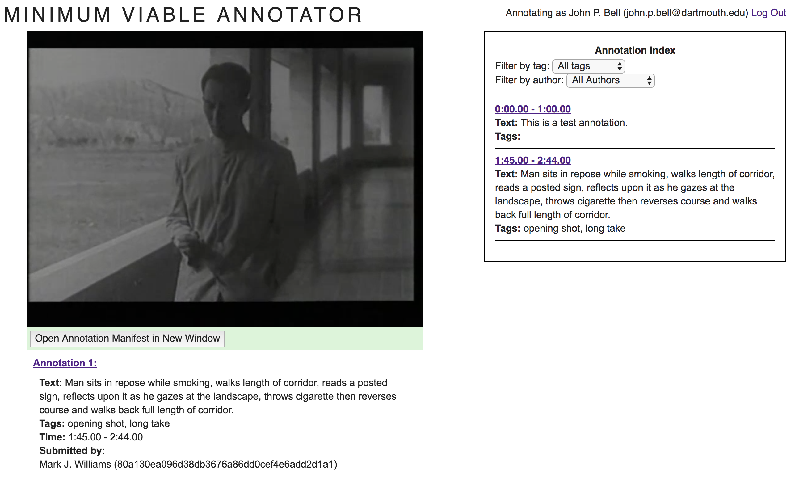 Onomy v1.2 Minimum Viable Annotator example