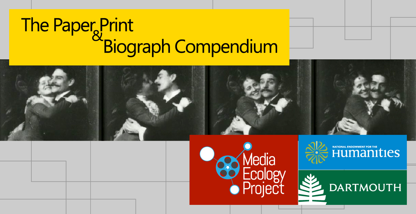 Paper Print and Biograph Compendium Poster